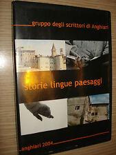 DVD ANGHIARI 2004 STORIE LINGUE PAESAGGI GRUPPO DEGLI SCRITTORI DI ANGHIARI