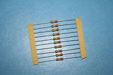 220k ohm 1/2 watt carbon film R.G.Allen resistors New 12 in lot