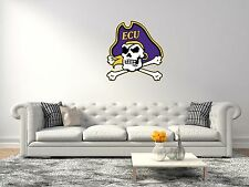 East Carolina Pirates NCAA Football Sport Wall Decal Vinyl Sticker For Room Home