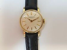 IWC 18K GOLD WOMEN'S WRIST WATCH. MECHANICAL MOVEMENT, BRAND NEW LEATHER BAND