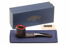 Savinelli Roma 123 Black Stem Tobacco Pipe
