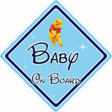 Disney Baby On Board Car Sign – Winnie The Pooh
