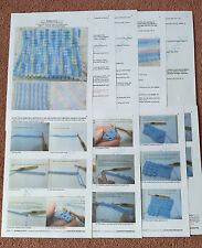 PPINTED PAPER CROCHET PATTERN TO MAKE *BOBBILLICIOUS* BLANKETS