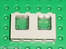 RARE Fenetre LEGO OldGray Window ref 4863 + Glass 4862 smoke/ 6494 5986 amazone