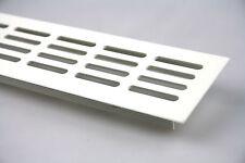 Aluminium Lüftungsgitter Stegblech Weiss 60x600mm