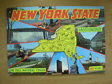 VINTAGE TOURIST BROCHURE GUIDE - NEW YORK THE EMPIRE STATE VACATIONLANDS USA