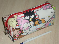 Hello Kitty mix Sanrio Character Cosmetic Bag Multipurpose Pouch pencil case