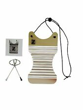 Washboard Zydeco Rubboard Musical Instrument Free Scratchers StainlessSteel Mini