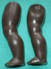 celluloid legs turtle-mark for dark coloured doll 22