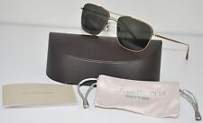 Oliver Peoples Shaefer Sunglasses Antique Gold Polarized OV 1146-ST 5039/P1 New