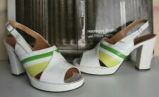 Plateau Pumps WETHAA Sandale 70er TRUE VINTAGE 70s made in italy Hippy
