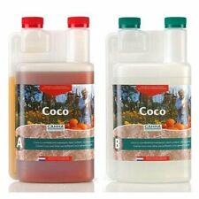 Canna Coco A & B 1 Liters - 1L each Grow Veg Bloom Flower Hydroponic Nutrients