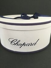 NWOT 'AUTHENTIC PANAMA' PARIS EXCLUSIVE CHOPARD PANAMA STRAW HAT/CHOPARD HAT BOX