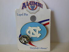University North Carolina Tar Heels Officially Licensed Enamel 2 Tier Lapel Pin