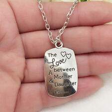 love between mother and daughter one Pendant Necklace!