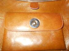Wilsons Leather Pelle Studio Bag Purse Beautiful Rich Cognac Brown Color