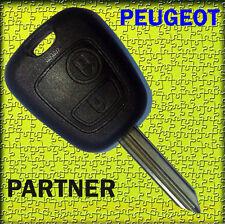 ★★★ COQUE CLE TELECOMMANDE PLIP PEUGEOT Partner Expert ★★★