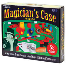 CHILDREN'S KIDS BEGINNERS STARTERS MAGICIANS MAGIC TRICK CASE TOY SET 06436