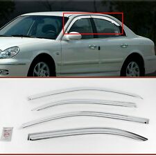 Exterior Chrome Window Sun Visor Cover Molding K652 for Hyundai Sonata 2000-2004