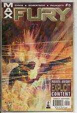 Marvel Max Comics Fury #5 March 2002 Garth Ennis NM-