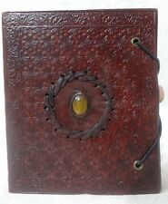 14 Genuine Leather Book of Shadows Blank Paper Journal Notebook Wicca Diary 6x5
