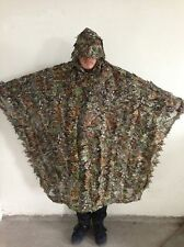 3D Realtree Yowie Ghillie Suit Sniper Birdwatching Disguise Poncho Cloak Manteau