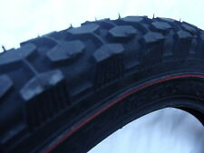 "VINTAGE  RALEIGH REDLINE TYRE 20 X 2.125"" BLOCK TREAD FOR CHOPPER"