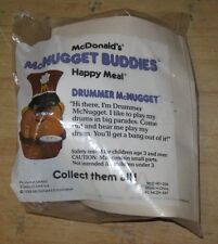 1988 McNugget Buddies  McDonalds Happy Meal Toy -  Drummer- Marching Band