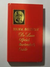 Vintage Old Mr Boston Deluxe Official Bartenders Guide Hardback