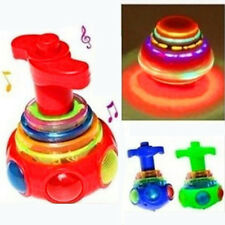 1PCS Colorful Light And Music Gyro Peg-Top Spinning Tops Kids Children Toy