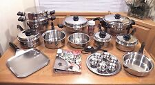 SALADMASTER TP304-316 System 7 Ply Surgical Stainless Cookware Electric Skillet