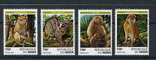 Niger 2015 neuf sans charnière primates 4v set singes faune Bushbabies babouins patas monkey