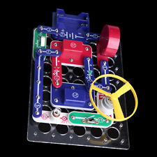 Science DIY Snap Circuits Electronics Discovery Blocks Kit Educational Toy Kids