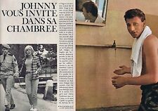 Coupure de presse Clipping 1964 Johnny Hallyday  (8 pages)