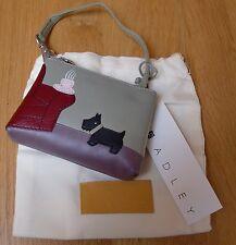 Radley Fireside Armchair Mini Bag - WORLDWIDE POSTAGE - VERY RARE - BNWT