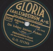 Blasorchester Carl Woitschach : Die Grasmücken + Die beiden kleinen Finken