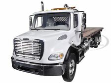 FREIGHTLINER M2 WITH JERR-DAN FLATBED TOW TRUCK 1/34 BY FIRST GEAR 10-4020