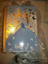 Disney Store Cinderella Journal Diary Live Action Movie Sold Out