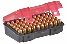 PLANO 50 Count Handgun Ammo Case for 9mm and .380 ACP Ammo - Model: 1224-50