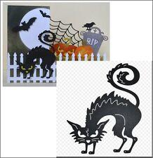 Horrible Cat metal die - Cheery Lynn Designs dies B495 animals,cats,Halloween