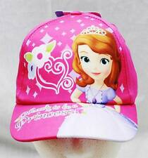 NWT Sofia the First Baseball Cap Pink-  Child Size Licensed by Disney
