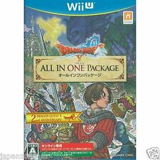 Used Wii U Dragon Quest X [All In One Package] JAPANESE VERSION IMPORT NINTENDO