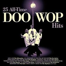 "25 All-Time Doo-Wop Hits ""SEALED"" CD!!!"