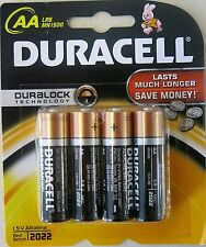 Duracell Coppertop Alkaline Duralock Technology AA Batteries (1 pack of 4)