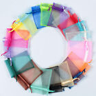 NEW 25/50/100 ORGANZA GIFT BAGS Wedding Decoration Party Favour Packing