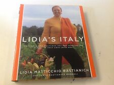 LIDIA'S Italy 140 Simple Delicious Recipes from 10 Places in this Country
