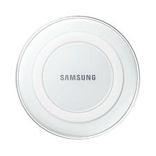 NEW SAMSUNG QI WIRELESS CHARGER PAD STATION FOR GALAXY S6 WHITE EP-PG920IWEGWW