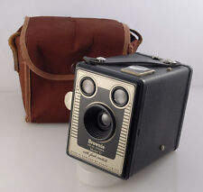 Vintage Art Deco Kodak Brownie Six-20 Model D Box Camera, Made in England