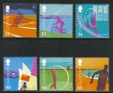Guernsey 2003 Island Games--Attractive Sports Topical (795-800) MNH