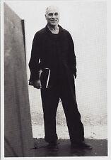 Kunstpostkarte - Benjamin Katz:  Richard Serra  1981